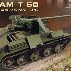 1:35 Romanian 76-mm SPG Tacam T-60 Interior Kit 1:35