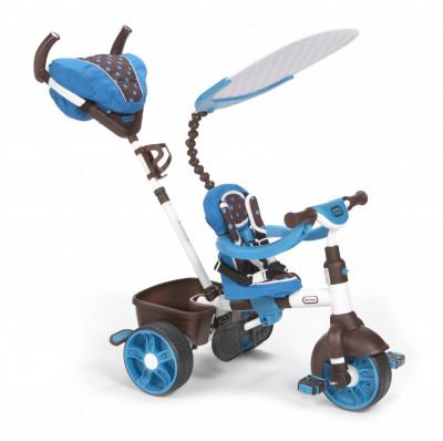 Tricicleta Sport 4In1 (Albastru Cu Alb) foto