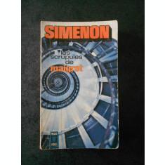 GEORGES SUMENON - LES SCRTUPULES DE MAIGRET (limba franceza)