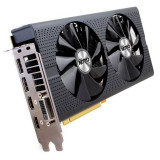 Placi video second hand SAPPHIRE Radeon RX 480 NITRO OC, 8GB GDDR5, 256-bit, AMD