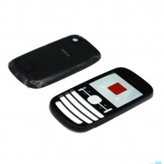 Carcasa Nokia Asha 200 Dual Sim Neagra