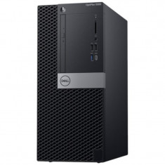 Sistem Desktop PC Dell OptiPlex 5060 MT cu procesor Intel Core i7-8700 pana la 4.60 GHz, Coffee Lake, 8GB, 1TB, Intel UHD Graphics 630, Win 10 Pro
