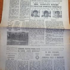 sportul 24 decembrie 1983-incheierea turului la fotbal,dinamo lider