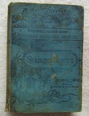 Carte veche maghiara.Konrad von Bolanden Sickingen Ferencz I-II.1887 foto