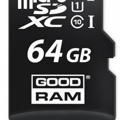 MicroSDXC card Goodram 64GB Class 10 UHS-I + Adapter
