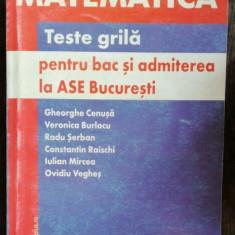 TESTE GRILA PENTRU BAC SI ADMITEREA LA ASE BUCURESTI