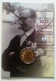 "GRECIA 2017 2 Euro comemorativ ""60 years since the death of Nikos Kazantzakis"", Europa"