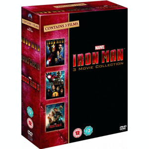 Filme Marvel Iron Man DVD BoxSet Complete Collection