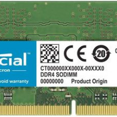 Memorie Laptop Crucial, 4GB, DDR4-3200MHz, CL22