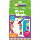 Carte de colorat cu apa - Litere si Ilustratii - ABC.