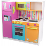 Bucatarie Kidkraft Big And Bright Deluxe, lemn, 3 ani+