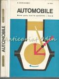 Cumpara ieftin Automobile - M. Constantinescu, M. Popa - Tiraj: 1920 Exemplare