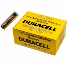 Baterie Duracell Alcalina AA Set 10 Buc LR6/MN1500 Industrial