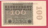 GERMANIA 100 Milioane MARK / 1923.