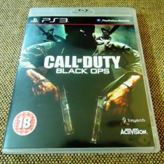 Joc Call of Duty Black Ops, PS3, original, alte sute de jocuri!, Shooting, 18+, Single player, Activision