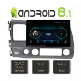 Navigatie dedicata Honda Civic Sedan A-044 cu Android Radio Bluetooth Internet 1+16GB CarStore Technology