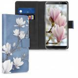 Husa pentru HTC Desire 12s, Piele ecologica, Multicolor, 52074.01