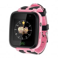 Ceas Smartwatch pentru copii Kruger Matz KM0469B, Localizare, Roz
