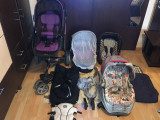 cărucior ABC 3 tec