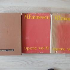 Eminescu, Opere- editie critica intemeiata de Perpessicius ,vol.X,XI,XII, r2c