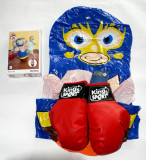 Set sac de box gonflabil cu manusi de box pt copil 3-6 ani - Noi