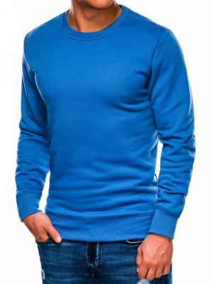 Bluza barbati B978 - albastru foto