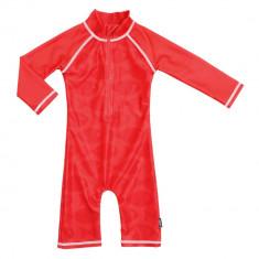 Costum de baie Fish Red marime 62- 68 protectie UV Swimpy for Your BabyKids