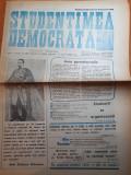 Ziarul studentimea democrata 24 ianuarie 1990-mica unire