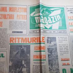 Ziarul magazin 7 iulie 1969 - articol  liceul stefan cel mare ,suceava