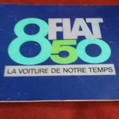 PLIANT FIAT 850 LA VOITURE DE NOTRE TEMPS