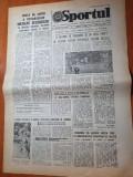 sportul 6 iunie 1986-campionatul mondial de fotbal,interviu ion alexandrescu