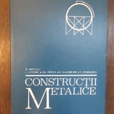 CONSTRUCTII METALICE-D.MATEESCU