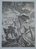 Mattias Scheits gravura veche 1672