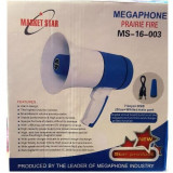 Megafon Portavoce 15W cu Acumulator, USB si Inregistrare MS16003