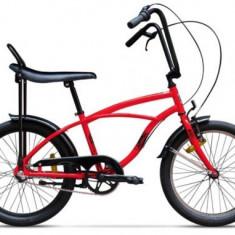 Bicicleta Pegas Strada Mini 1S 2017, Cadru 13inch, Roti 20inch (Rosu)