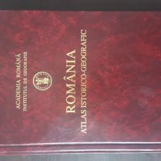 ROMANIA , ATLAS ISTORICO - GEOGRAFIC , 1996