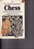 The Oxford Companion to Chess- David Hooper, Kenneth Whyld, 1987- carte sah, Alta editura