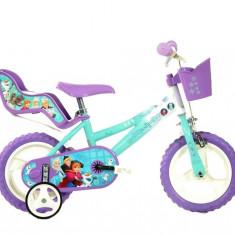 Bicicleta pentru fetite Frozen 12 inch Purple