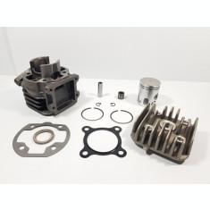 Kit Cilindru Set Motor + Chiuloasa Scuter italjet Pista 49cc 50cc Racire Aer