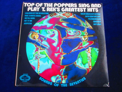 The Pop Of The Poppers - Sing And Play T.Rex greatest Hits_ LP_Hallmark(1973,UK) foto