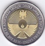 Moneda Moldova 10 Lei 2019 - KM#New UNC ( bimetalica , comemorativa )