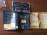 akcent primul capitol album caseta audio muzica pop euro house 2006 roton NRG!A