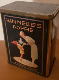 cutie metalica reclama ceai van nelle`s provenienta olanda