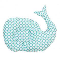 Pui de perna Baby Balena patratele teal