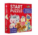 Cumpara ieftin Start Puzzle - Animale la Ferma, 26 piese, Noriel
