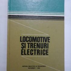 LOCOMOTIVE SI TRENURI ELECTRICE - N. CONDACSE