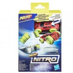 Jucarie Nerf Nitro Single Stunt And Car Barrelslam