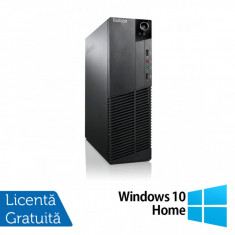Calculator Lenovo ThinkCentre M83 SFF, Intel Core i7-4770 3.40GHz, 8GB DDR3, 240GB SSD, DVD-ROM + Windows 10 Home