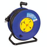 Prelungitor cablu alimentare cu 4 prize Schuko uz interior/exterior IP44 50m, Logilink LPS503