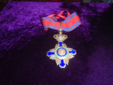 """Comandor Ordinul """"Steaua Romaniei"""" pentru Civili - Model Carol I"""